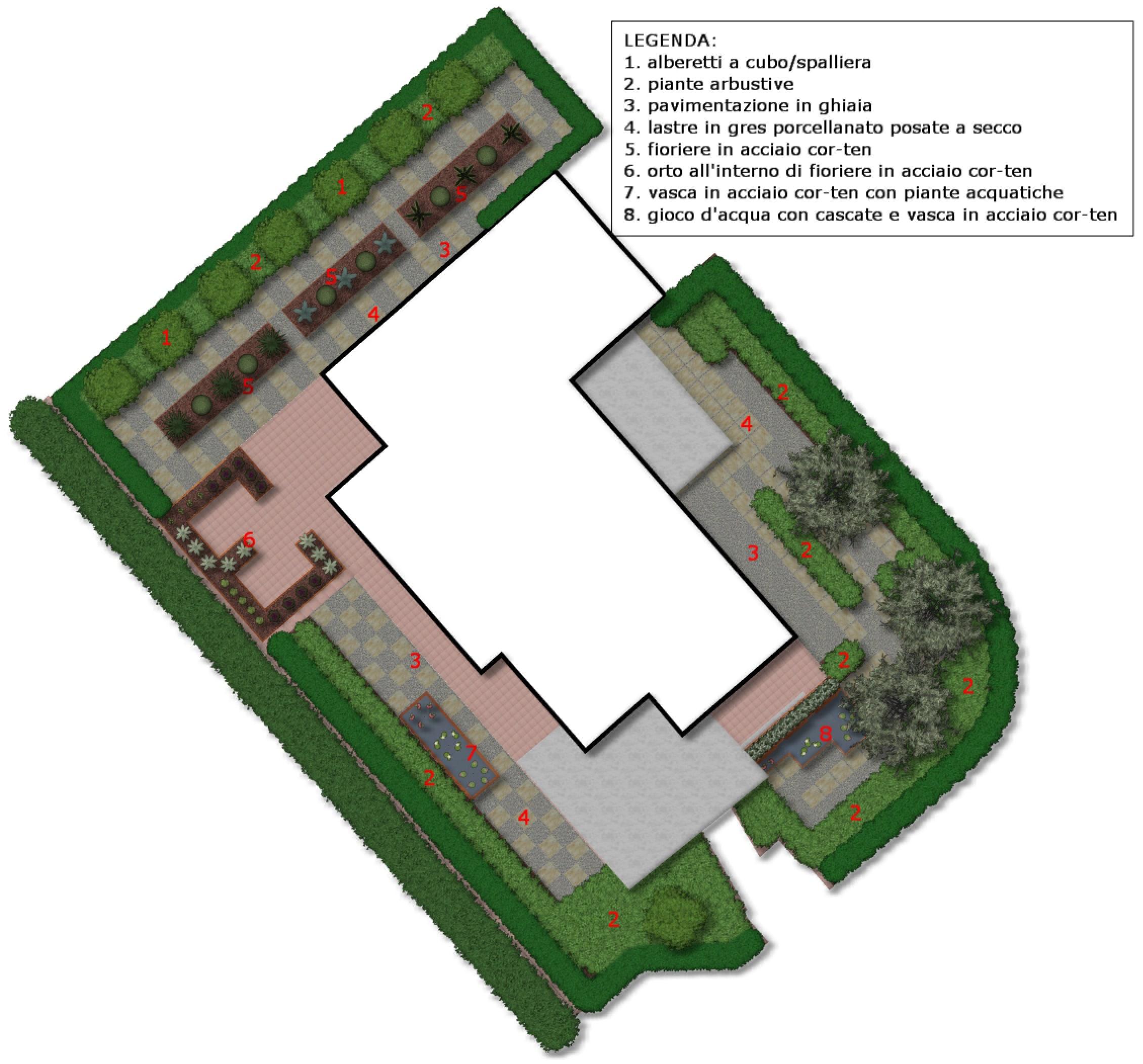 Progettazione giardini online - Davide Giorgi - Paesaggista