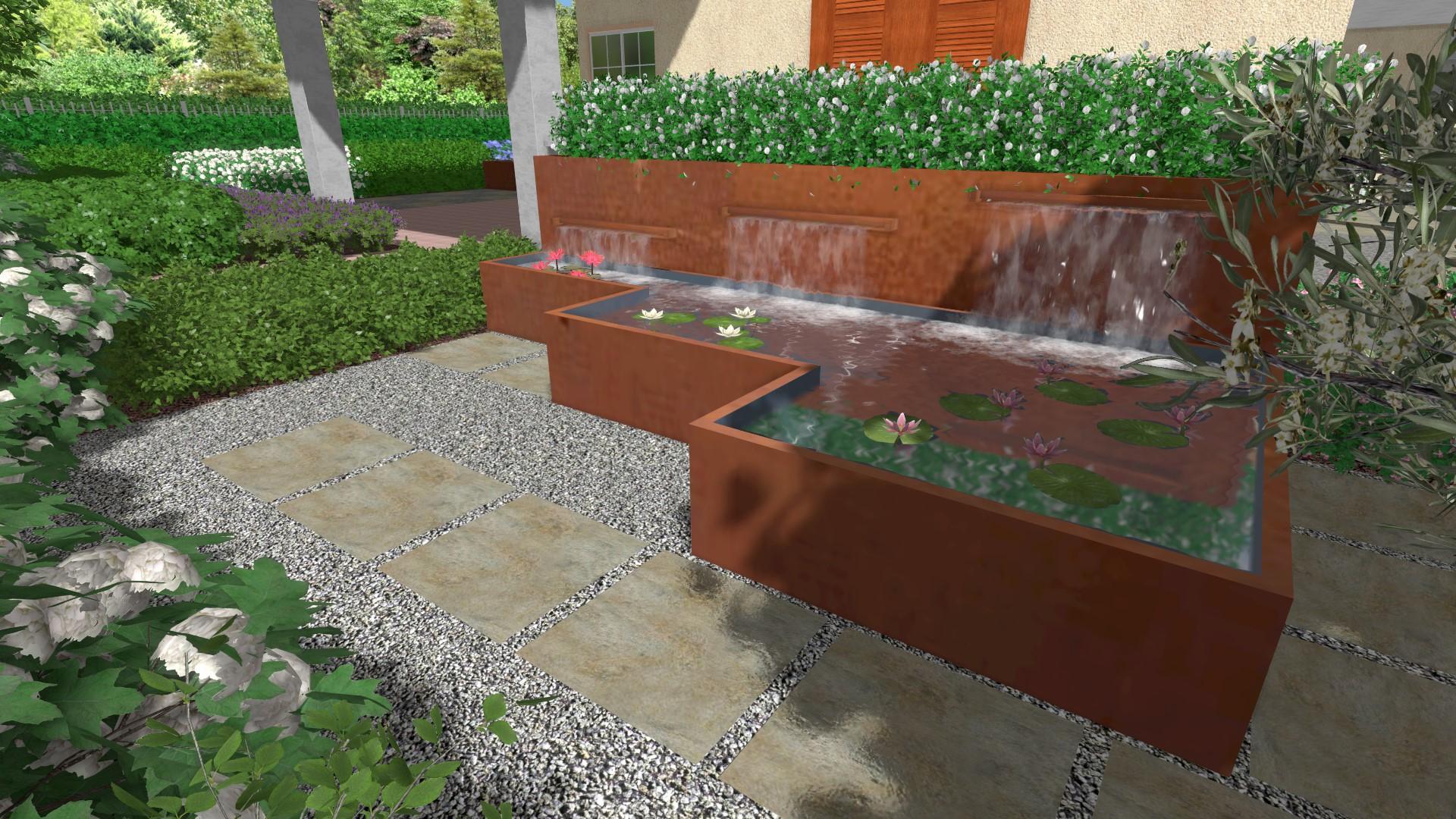 4 rendering giardino davide giorgi paesaggista for Rendering giardino