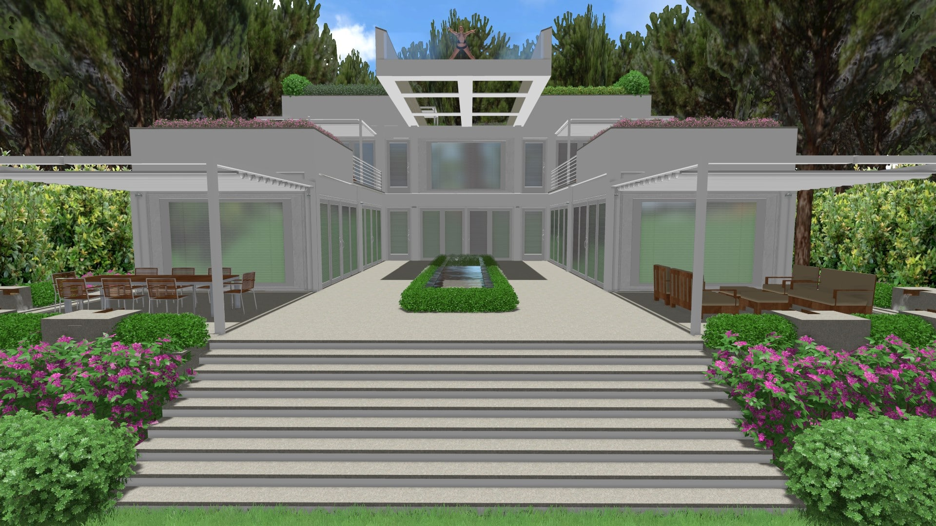 Emejing Giardini Sul Terrazzo Photos - Idee Arredamento Casa ...