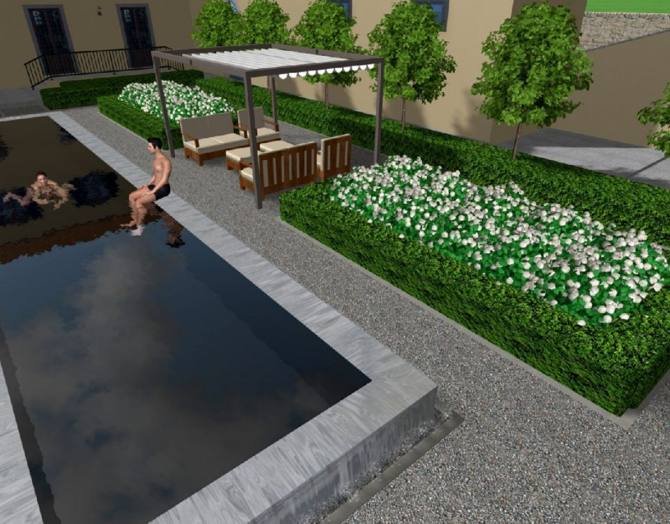 fabulous di giardino con piscina a perugia with giardino