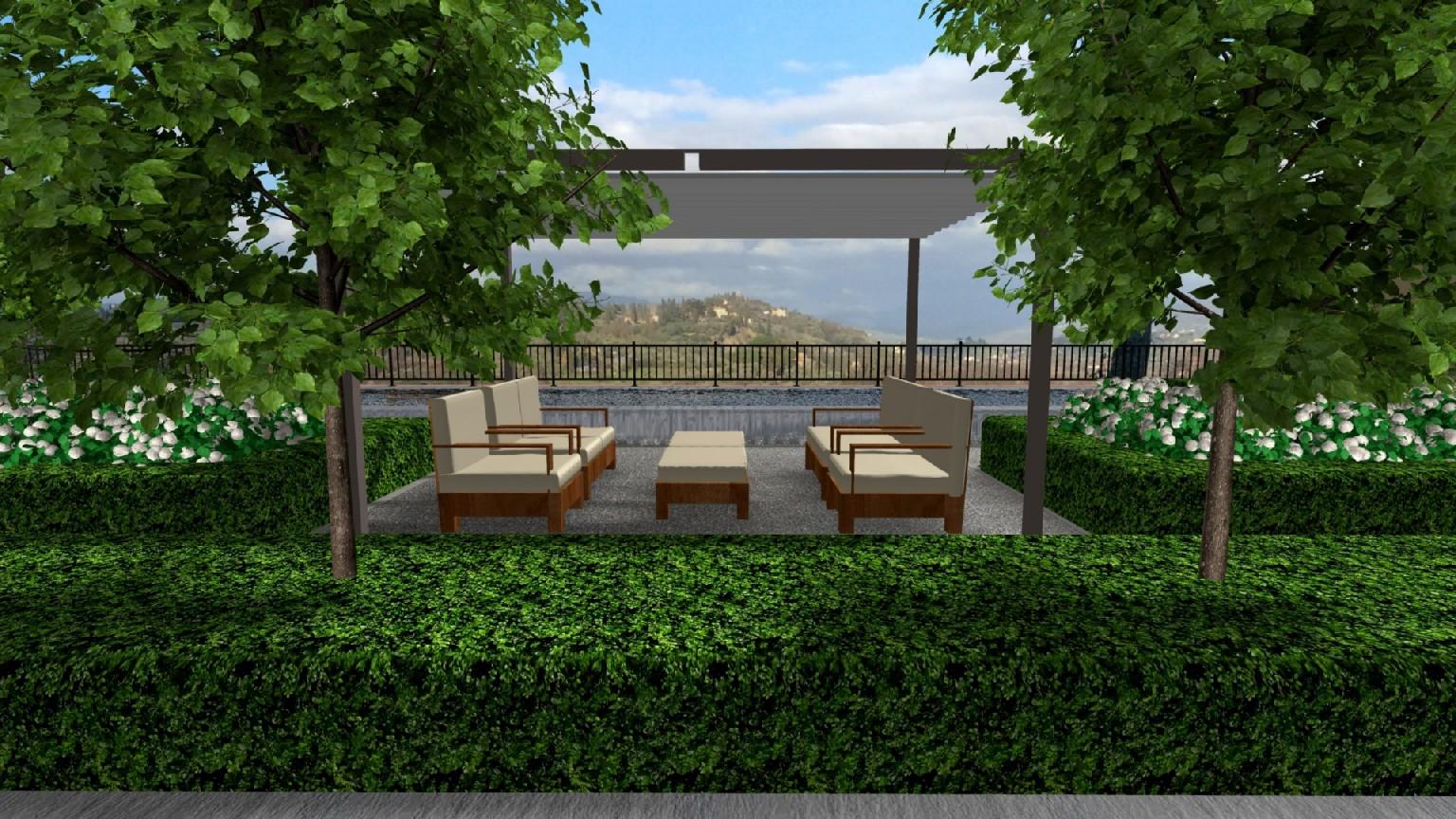 Amato Progettazione di giardino con piscina a Perugia - Davide Giorgi  GH78