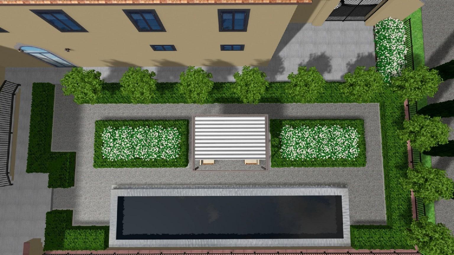 Progettare piccolo giardino finest un piccolo sentiero for Come costruire un progetto
