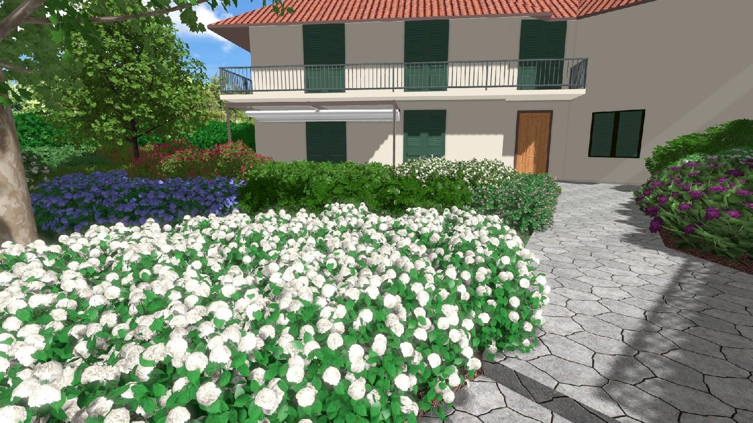 Progettazione di giardino a firenze davide giorgi for Giardino firenze