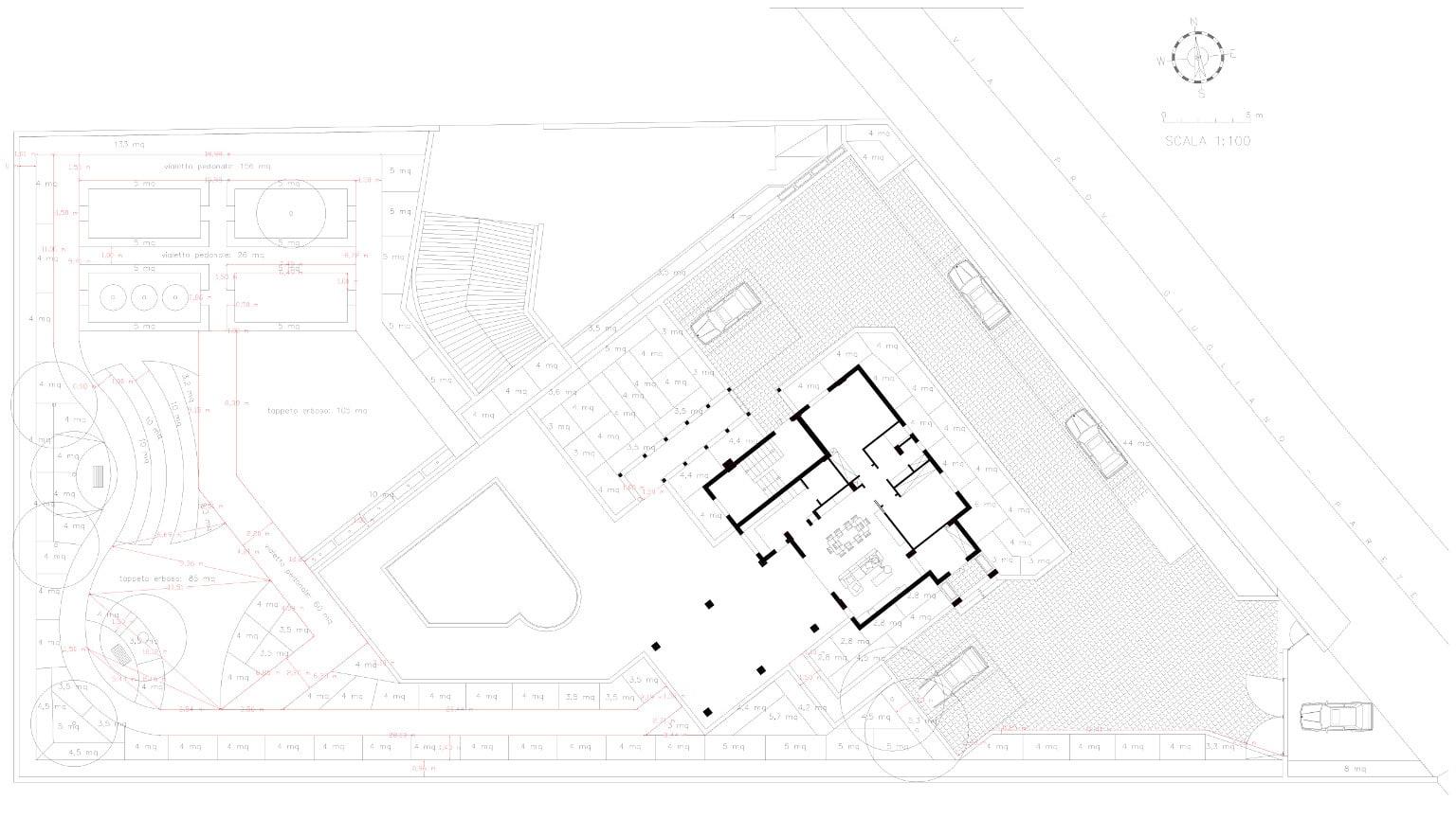 Progettazione-di-giardino-a-Napoli- progetto-dimensionale