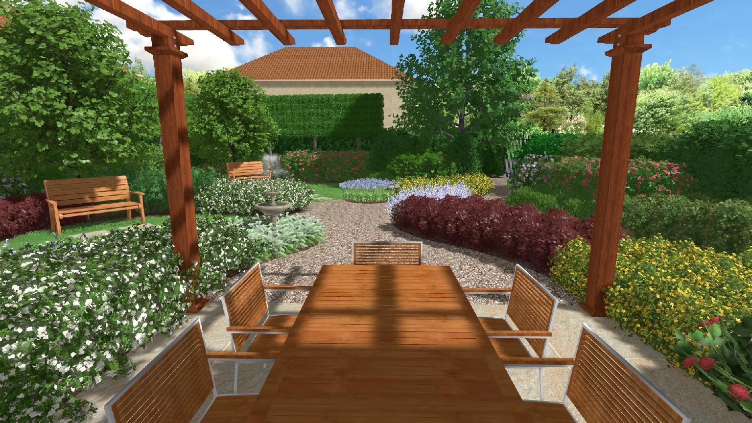 Progettazione giardini verona for Corso progettazione giardini