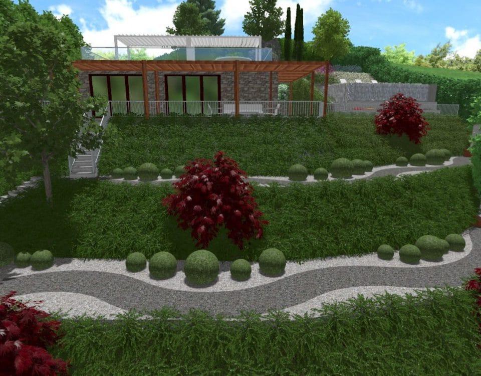 Progetti di giardini davide giorgi paesaggista